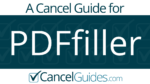 PDFfiller Cancel Guide