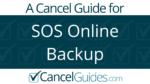 SOS Online Backup Cancel Guide