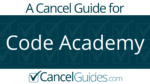 Code Academy Cancel Guide